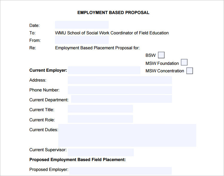 Employment Based Template Document