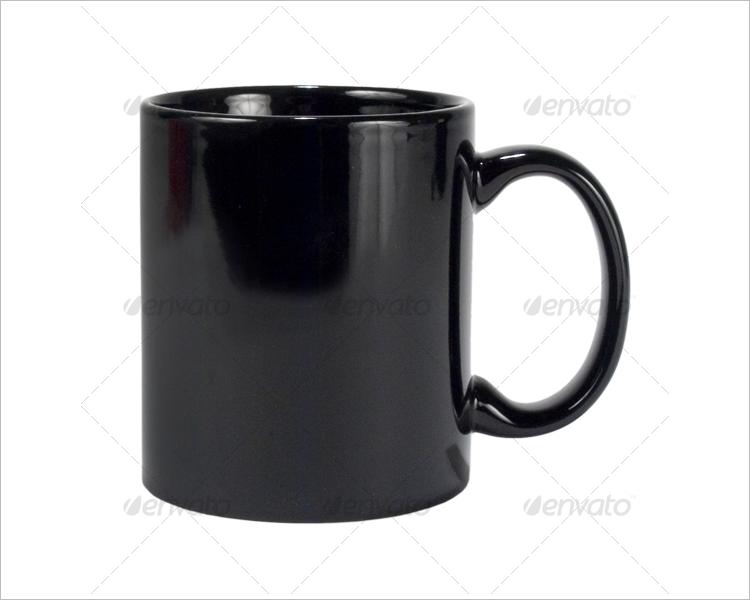 Enamel Coffee Mug Mockup