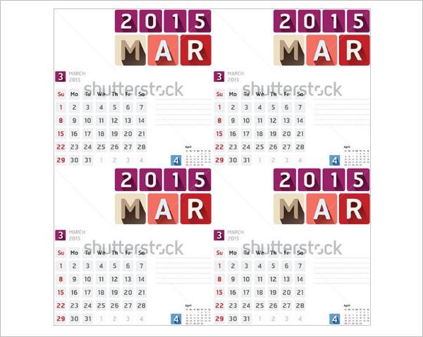 Event Calendar Templates Free Designs