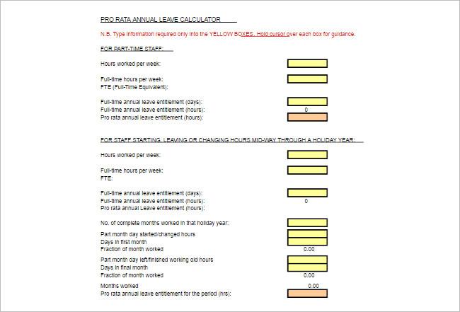 Excel Calculator Spreadsheet Templates