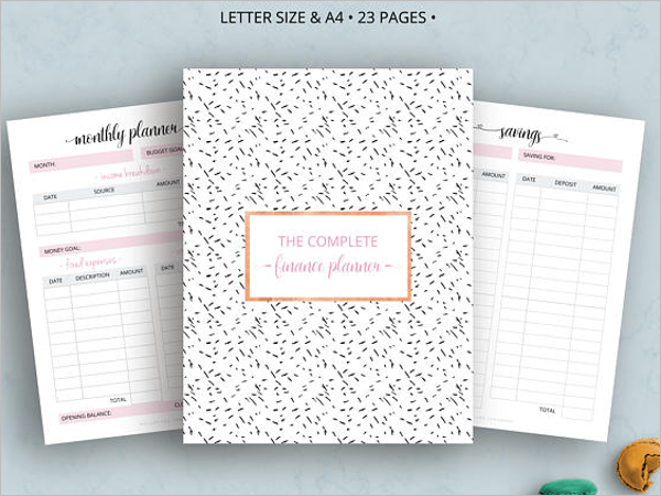 Excel Monthly Planner Budget Template