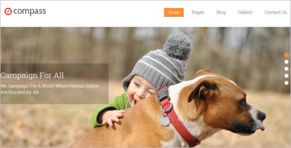 Feactured WordPress Template