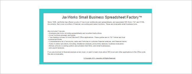 Financial Calculator Spreadsheet Template