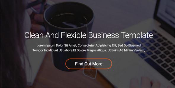 Flexible Website Layout Template