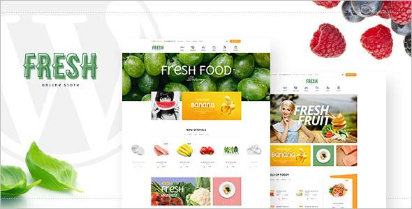 Food WordPress Platform Template