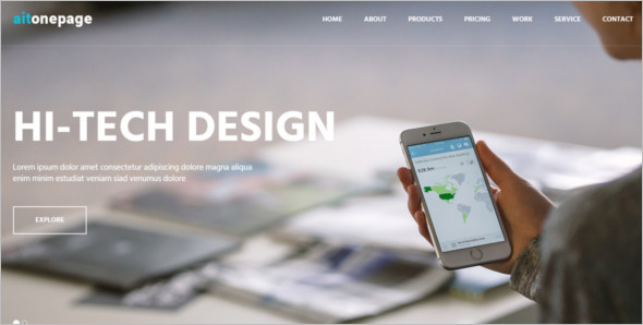 Free Website Layout Template