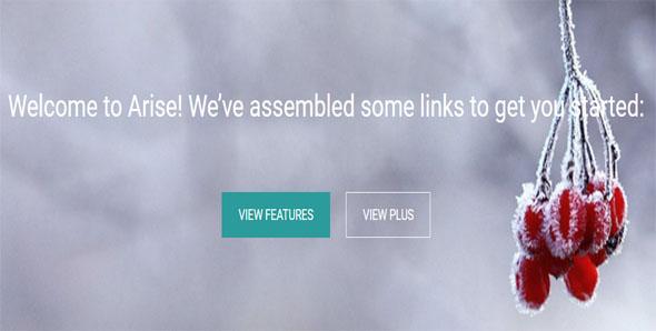 Full-Screen Business Website Template