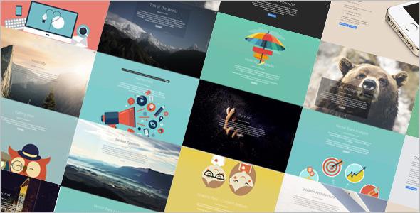 Full-Screen Portfolio Website Template