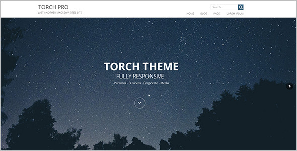 Fully Elegant Touch WordPress Template