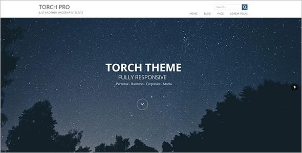 Fully Elegant Touch WordPress Template
