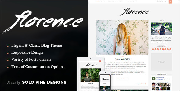Gallery WordPress Blog Template