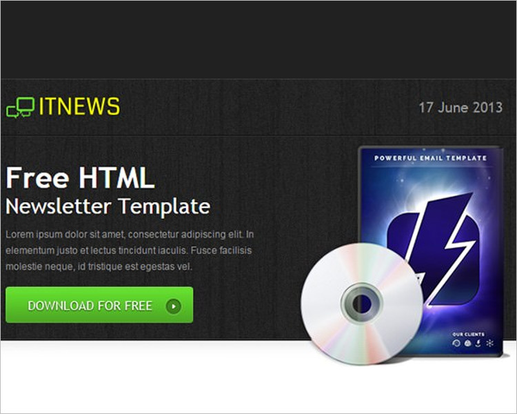 General HTML Email Template