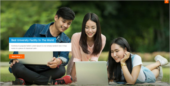 Godaddy University WordPress Template