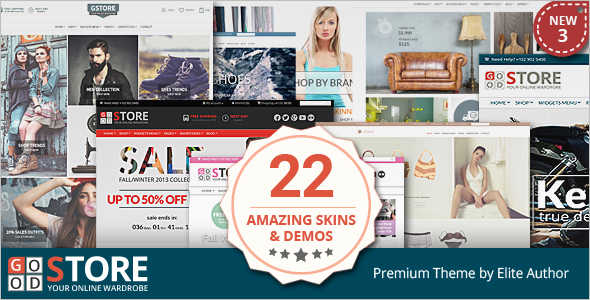 GoodStore WordPress Template