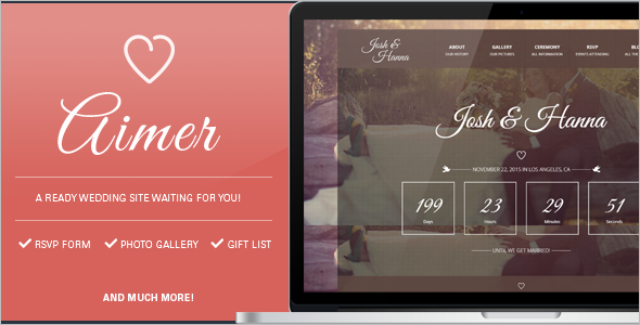 Groom Gallery Bootstrap Template