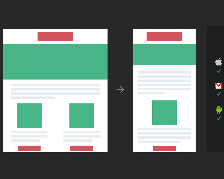 HTML Email Client Template