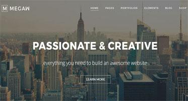 HTML Mega Menu Template