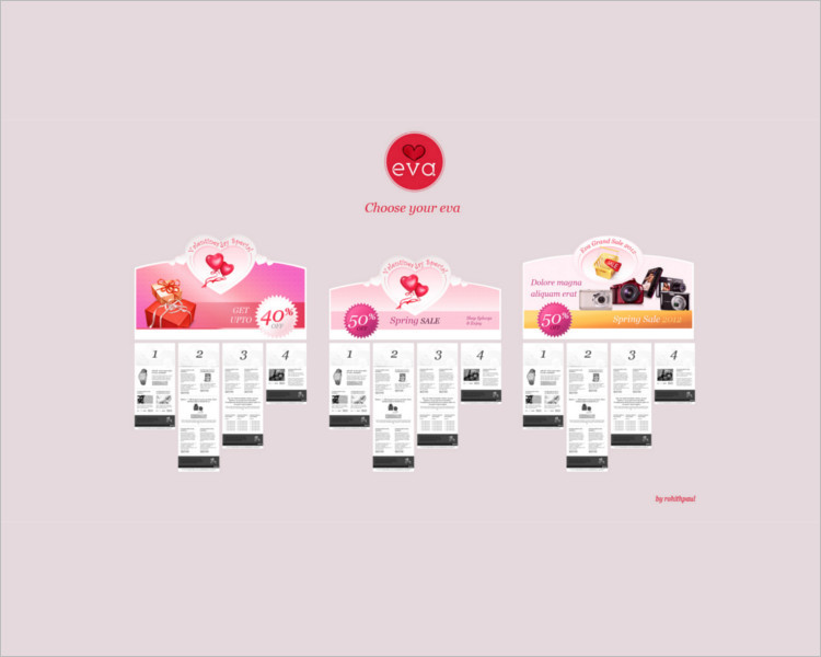 HTML Shopping Email Template