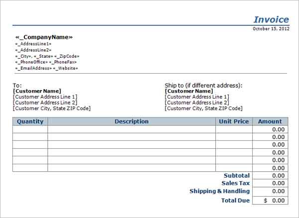 Independent Contractor Pay Stub Template  Salary Invoice Template