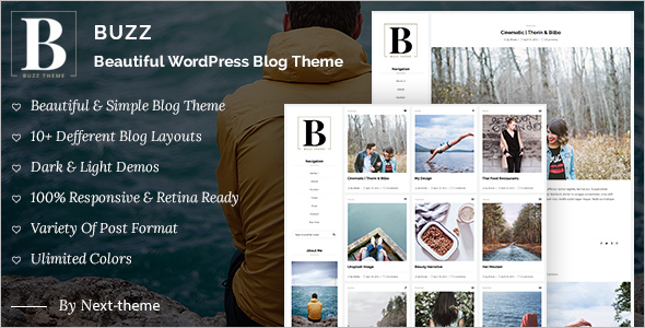 Instagram WordPress Blog Template