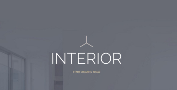 Interior Design WordPress Template