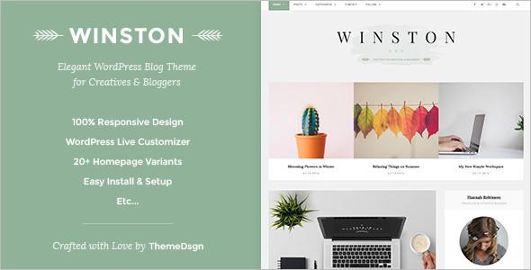 LifeStyle WordPress Blog Template