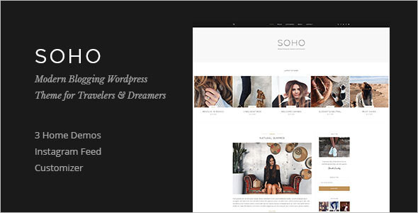 Magazine Blog WordPress Template