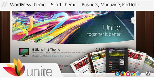 Magazine WordPress Template