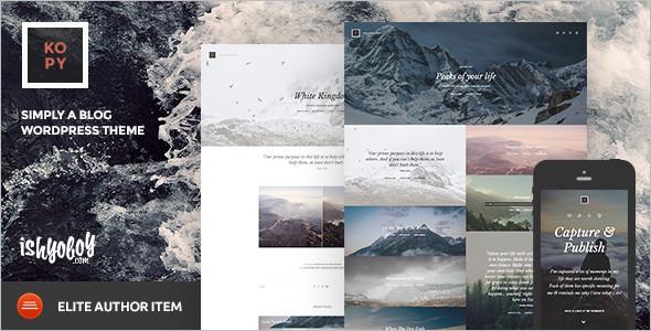 Magazine WordPress platform template