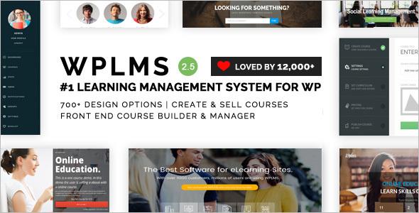 Management WordPress Platform template