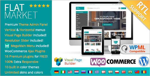 Market WordPress template