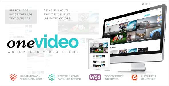 Media WordPress Video Template