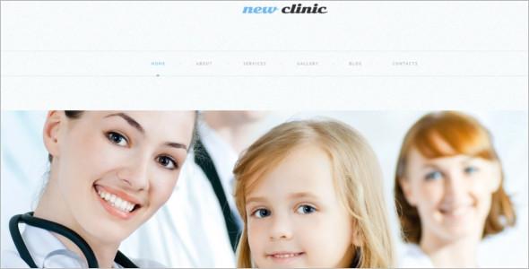 Medical Clinic WordPress Template