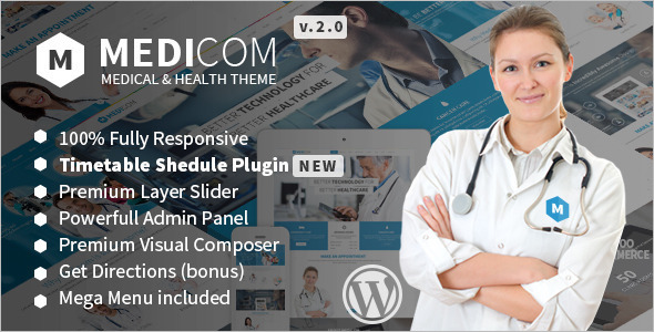 Medical & Health Care WordPress Template