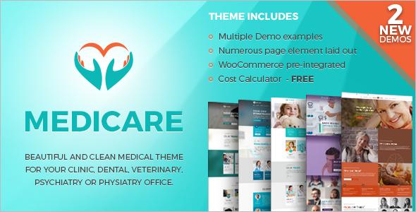 Medicare Health WordPress Temmplate