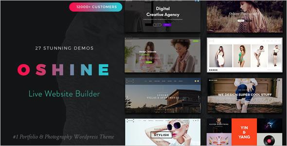 Minimal Website WordPress Template