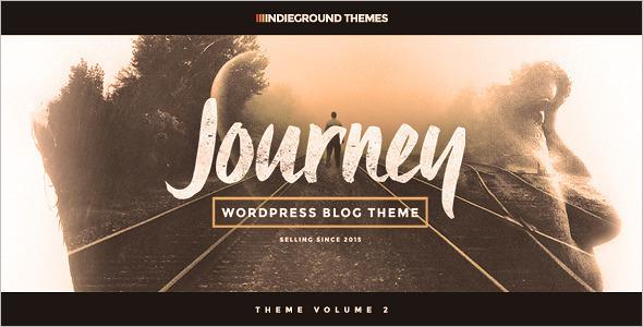 Minimal WordPress Blog Template