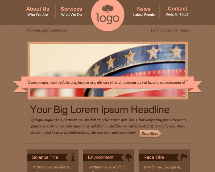 Minimalist HTML Email Template