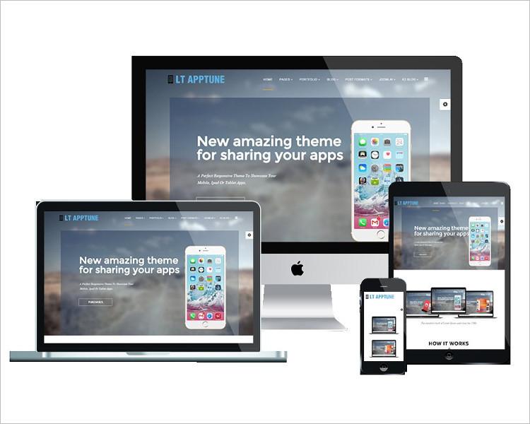 Mobile App Joomla Template