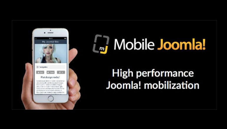 Mobile Joomla template