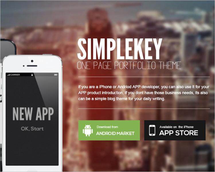 Mobile Slid Show Joomla Template