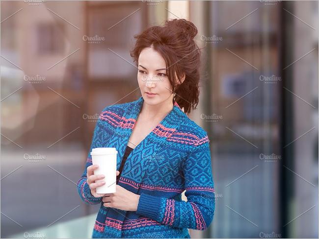Modern Coffe Cup Photo Mockup