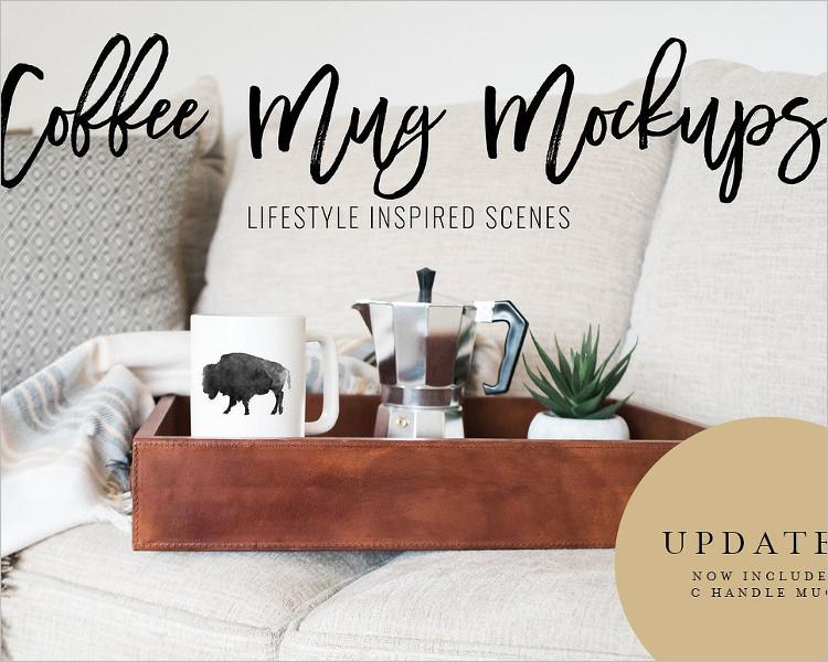 Modern Coffee Mug Mock-up