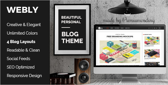 Modern WordPress Blog Template