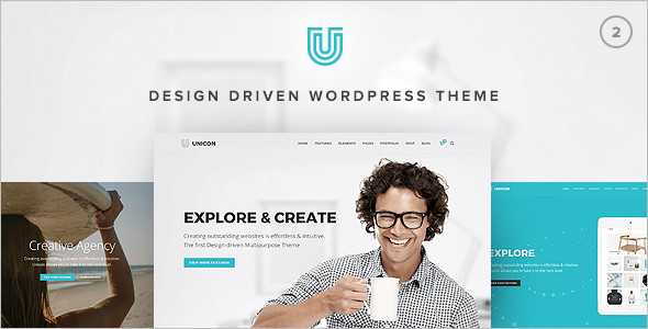 Multipurpose Driven Design WordPress Theme