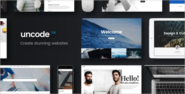 Multipurpose Parallax WordPress Template