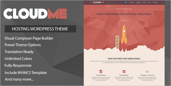 Multipurposes Hosting WordPress Template