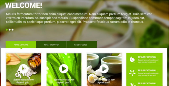 Nature Medical Medicine WordPress template