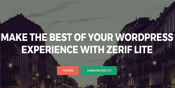 OnePage Full-Screen Website Template