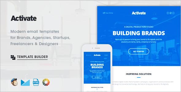 Online Active Website Template